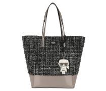 K/Space Tweed Shopper Black Shopper
