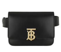 Gürteltasche TB Bum Bag Leather Black schwarz
