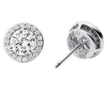 Ohrringe Necklace Stud Eearrings MKC1035An040 Silver
