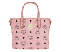 Anya Top Zip Shopper Mini Soft Pink
