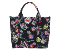 Capasanta Canvas Handle Bag Nero Limousine Shopper