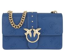 Love Imprime Shoulder Bag Blu Forte Satchel Bag