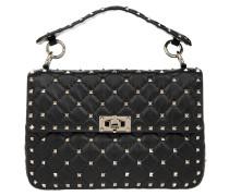 Rockstud Spike Crossbody Bag Medium Nero Tasche