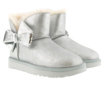 Boots W Mini Sequin Bow Silver silber