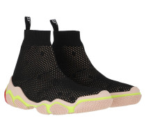 Sneakers Sneaker Black/Nude Yellow Coral