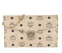 Umhängetasche Patricia Visetos Continental Crossbody Wallet Large Beige beige