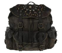 Zaino Laser Backpack Grigio Rucksack braun