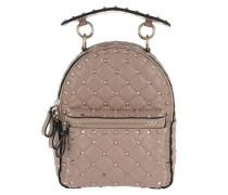 Rockstud Spike Backpack Leather Poudre Rucksack