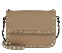 Rockstud Shoulder Bag Cammello Tasche