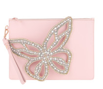 Pochette Flossy Butterfly Pearl Pouchette Sunkissed Pink rosa