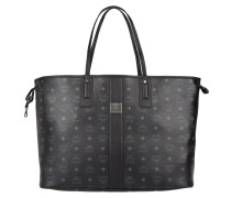 Liz Reversible Shopper Large Black grau