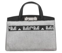Tote Mini Lux Bag Black Silver