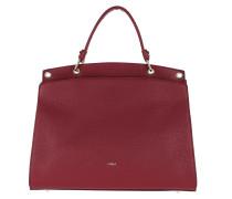 Satchel Bag Adele L Top Handle Ciliegia
