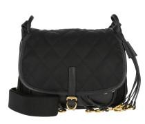 Corsaire Crossbody Bag Calfskin/Nylon Nero Tasche