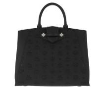 Tote Essential Leather Bag Medium Black