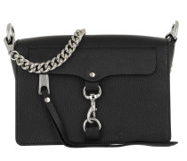 Mab Flap Crossbody Bag Black Tasche