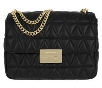 XL Chain Shoulder Bag Black Umhängetasche