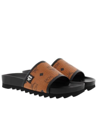 MCM Damen W Visetos Slide Slip On Loafers & Slippers Erschwinglich Gutes Verkauf Günstiger Preis Freies Verschiffen Neuestes OkUrn