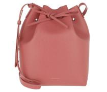 Beuteltasche Bucket Bag Leather Blush rosa