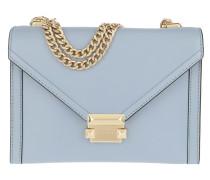 Whitney LG Shoulder Bag Pale Blue Tasche