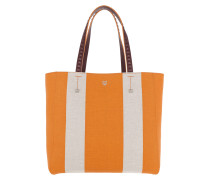 Ilse Canvas EW Shopper Medium Exotic Yellow orange