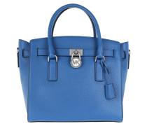Hamilton Large EW Satchel Bag_ Electric Blue Tote