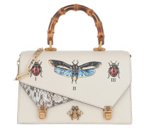 Ottilia Insects Handle Bag White