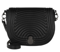 Umhängetasche Cavalcade Matelassé Crossbody Bag Black schwarz