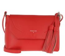 Umhängetasche Flap Crossbody Bag Mars Red\Moon Sand