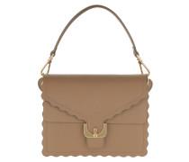 Umhängetasche Ambrine Merletto Crossbody Bag Desert beige