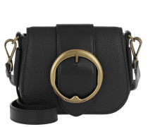 Umhängetasche Mini Lennox Saddle Crossbody Bag Black schwarz