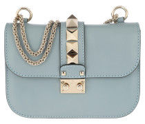 Rockstud Lock Shoulder Bag Small Nube Tasche