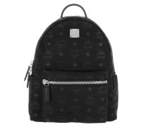 Dieter Monogram Small Backpack Nylo Black Rucksack