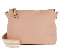 Umhängetasche Calf Adria Crossbody Bag Rosa rosa