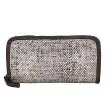 Perforated Wallet Grigio Portemonnaie braun
