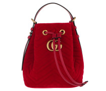 Marmont 2.0 Shoulder Bag Velvet Red Beuteltasche