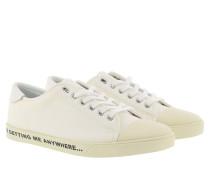 Sneakers Writing White