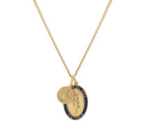 Halskette Men Victoria Pendant Necklace Polished Gold