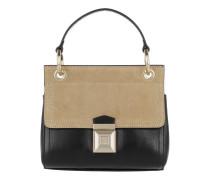 Vintage Leather Pochette Spring \Nero Tasche