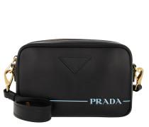 Umhängetasche Mirage Leather Crossbody Bag Nero schwarz