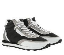 Sneakers Icon High Top Sneaker Nylon Black White