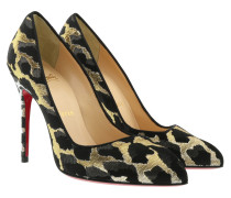 Corneille 100 Pumps Lurex Feline Black/Gold Pumps