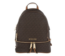 Rhea Zip MD Backpack Brown Rucksack