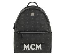 Rucksack Trilogie Stark Backpack Small Medium Black schwarz