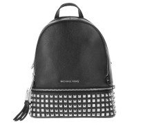 Rhea Zip MD Studded Backpack Black Rucksack