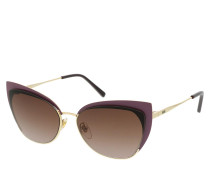 Sonnenbrille MCM144S Sunglasses Rose Gold