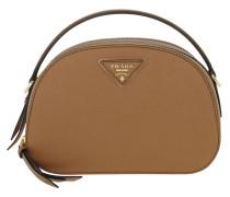 Umhängetasche Odette Shoulder Bag Leather Caramel braun