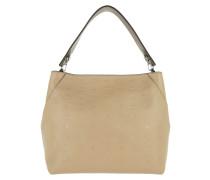 Klara Monogrammed Hobo Bag Medium
