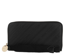 Portemonnaie Zip Wallet Black