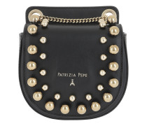 Studded Crossbody Bag 2 Black Tasche